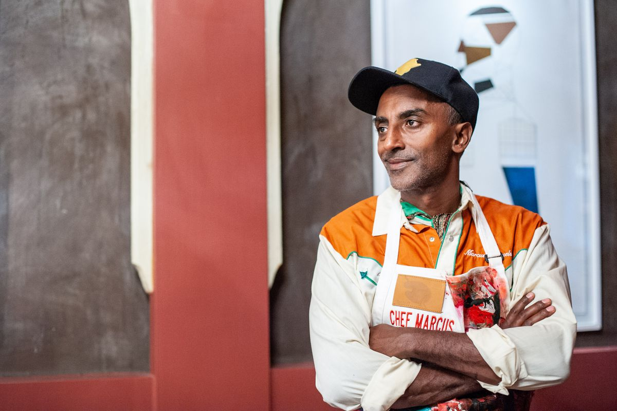 Marcus Samuelsson's new book has 150 recipes inspired by Black chefs, writers and activists, and includes profiles of 26. The recipes celebrate the legacy of Africa, the influence of migration and integration, and where cutting-edge Black chefs are going n