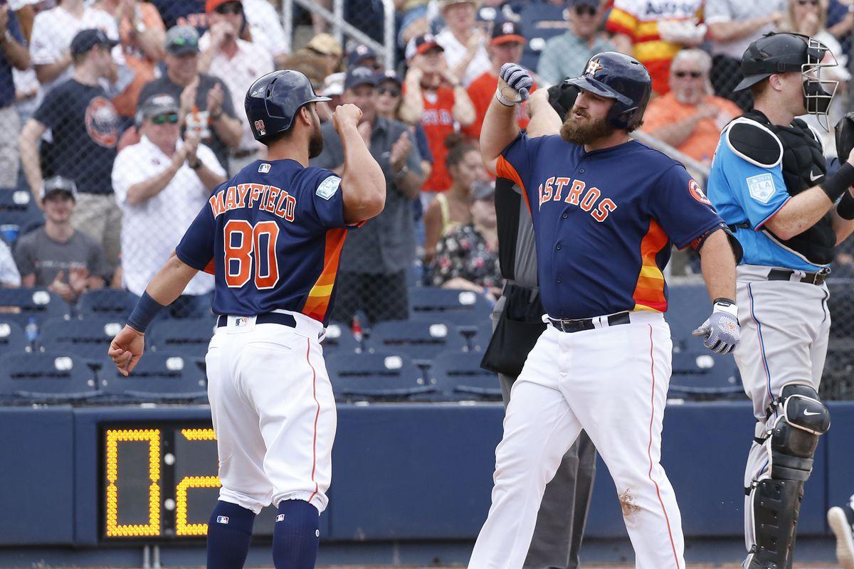 Miami Marlins v Houston Astros