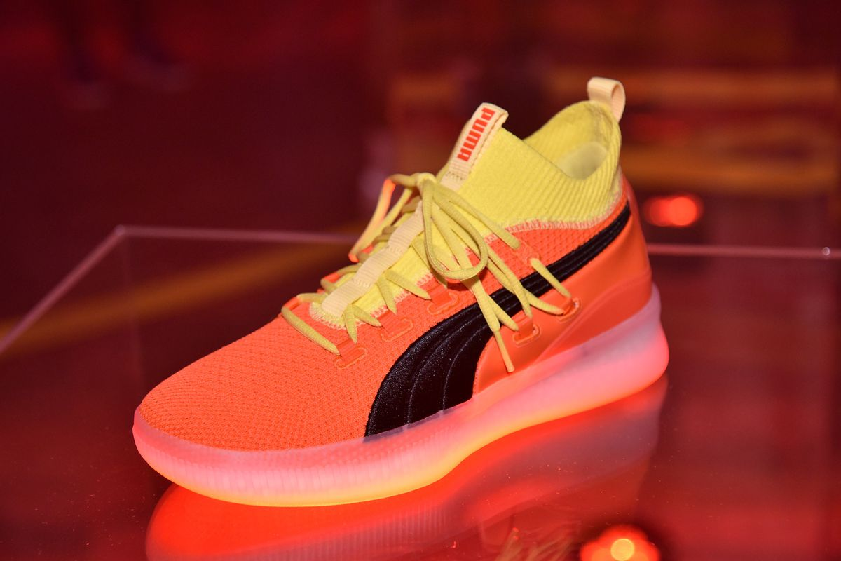 0427880d73cb Puma s Clyde Court Disrupt basketball shoe drops just in time for ...