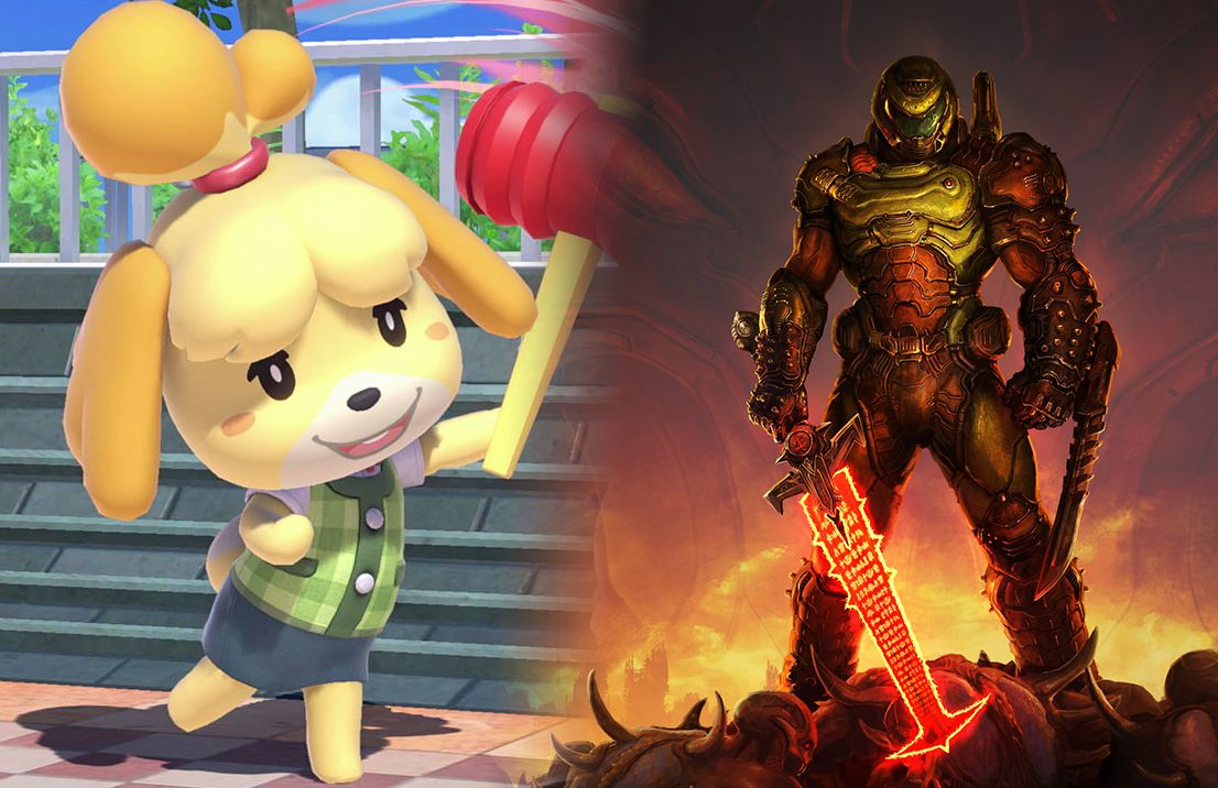 How Did Animal Crossing S Isabelle And The Doomguy Become Best