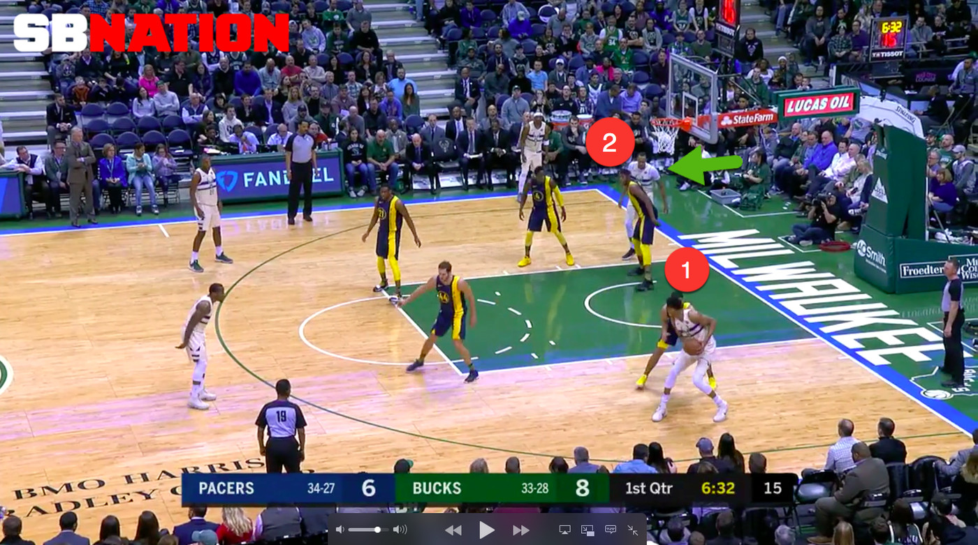 How Brook Lopez turbocharges the Milwaukee Bucks' offense by just