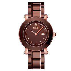 "<b>Fendi</b> large ceramic round case watch, $1,395 at <a href=""http://shop.nordstrom.com/s/fendi-large-ceramic-round-case-watch/3235550"">Nordstrom</a>"
