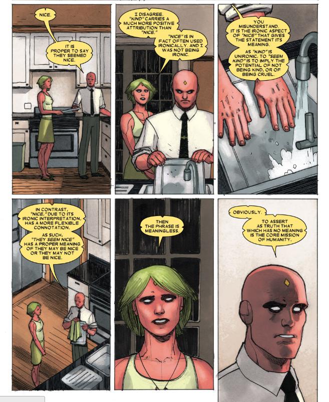 <em>'Vision' Issue no. 1(</em>Marvel)