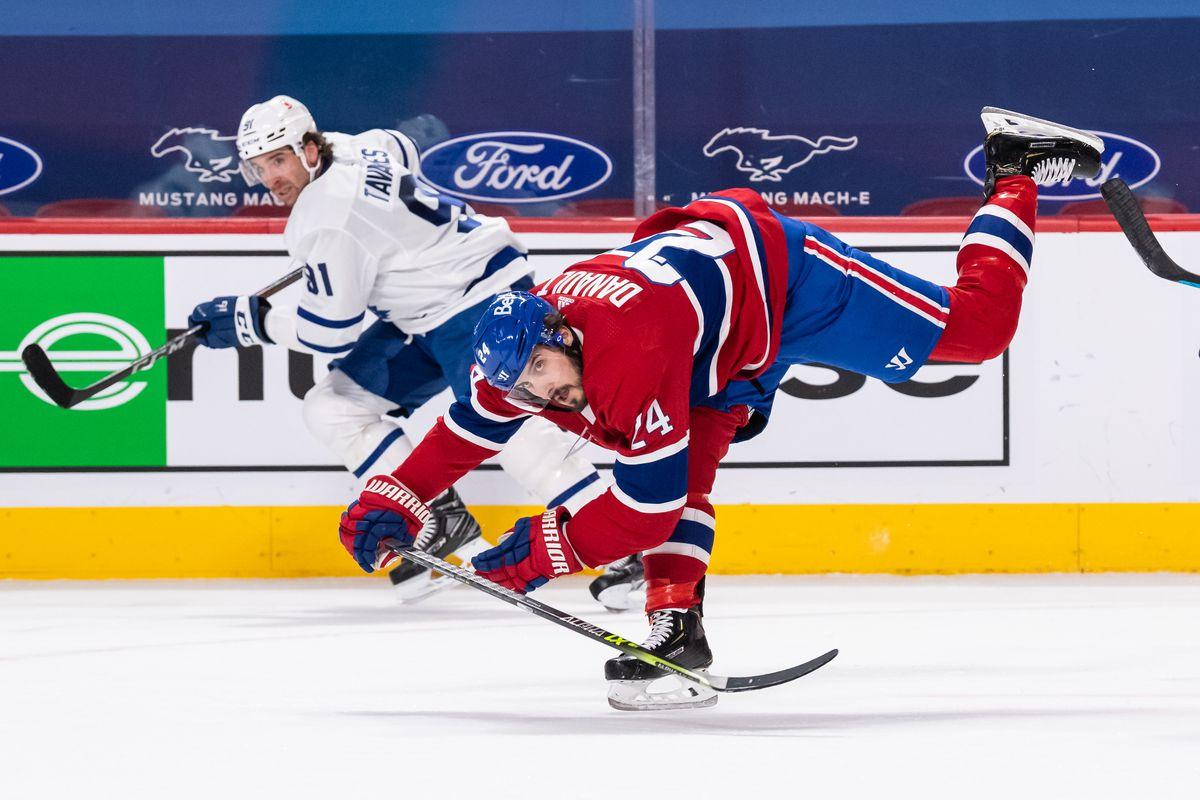 NHL: FEB 10 Maple Leafs at Canadiens