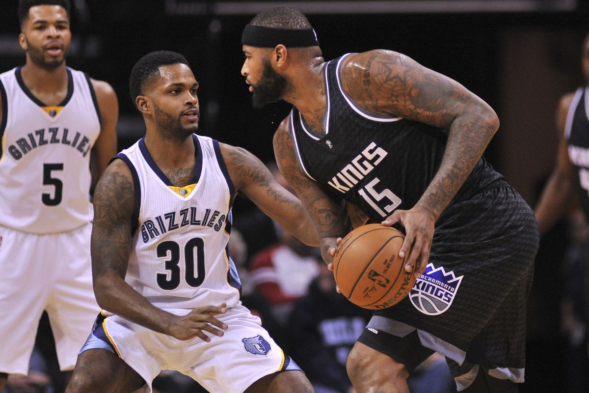 NBA: Sacramento Kings at Memphis Grizzlies