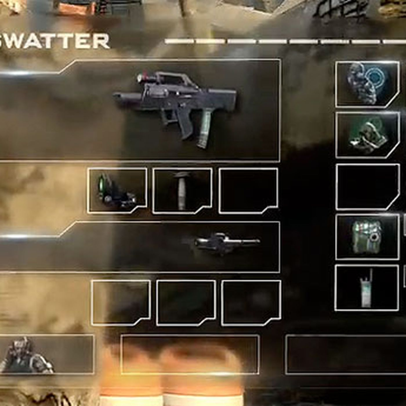 All Of The Call Of Duty Black Ops 2 Create A Class Options So