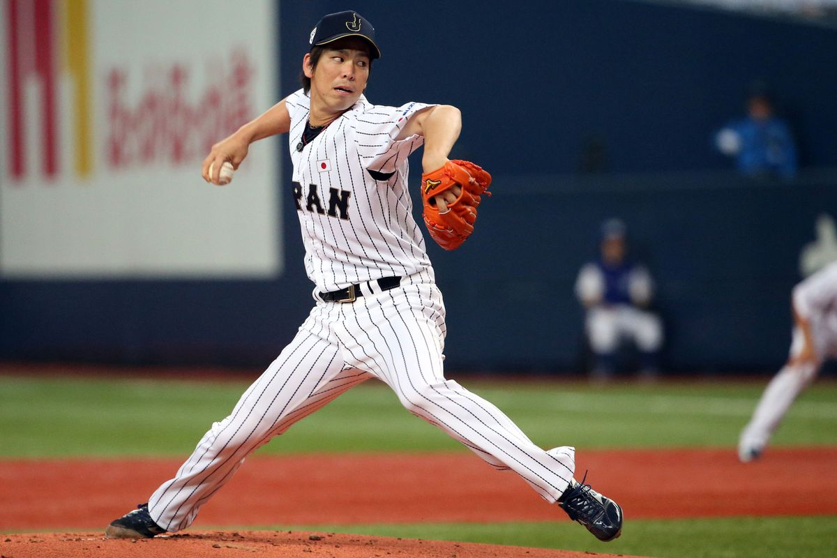 Kenta Maeda put on a good show for scouts