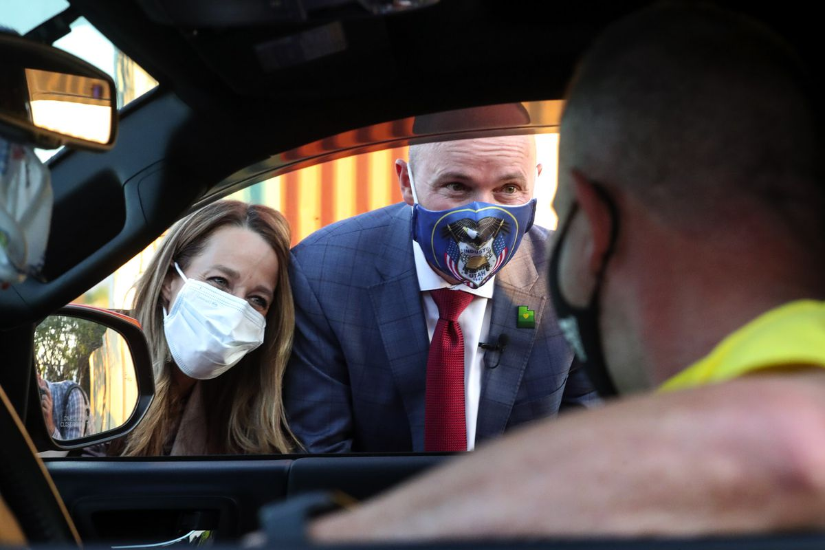 Spencer Cox Holds Narrow Edge Over Huntsman In Utah Gop Gubernatorial Primary Deseret News