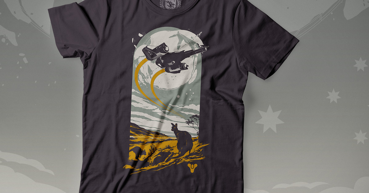New 'Guardians for Australia' shirt gives Destiny fans a way to donate and get swag