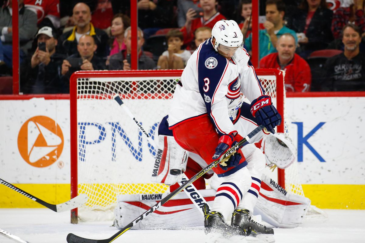 NHL: Columbus Blue Jackets at Carolina Hurricanes