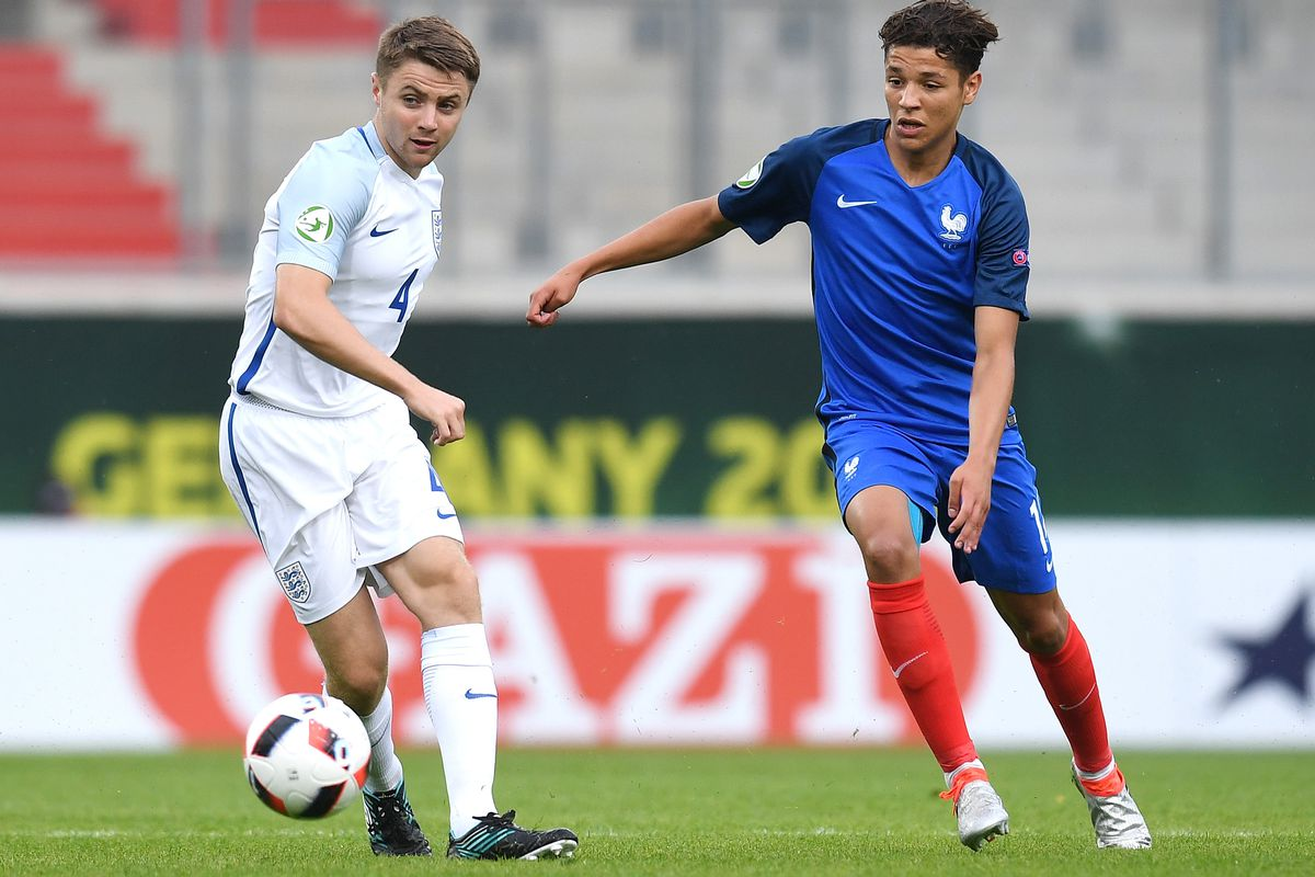 U19 France v U19 England - UEFA Under19 European Championship