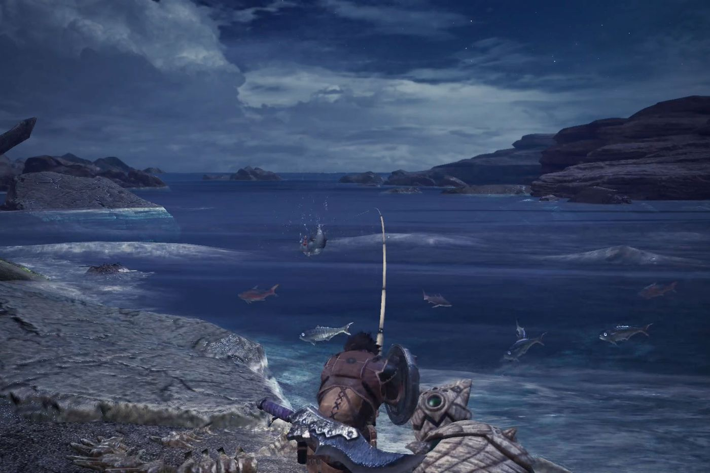 Monster Hunter: World fishing guide - Polygon