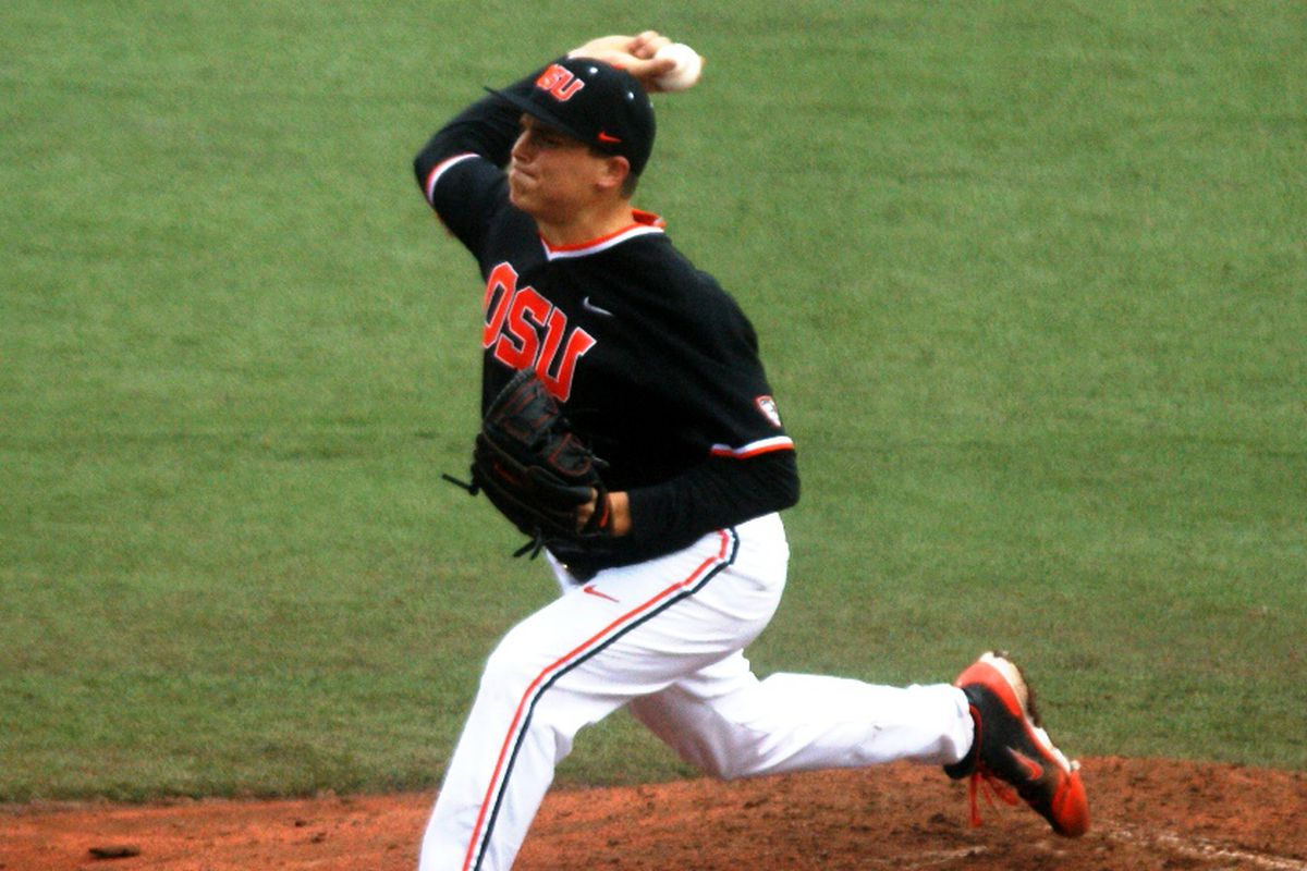 It's time for another weekday baseball game for Oregon St.