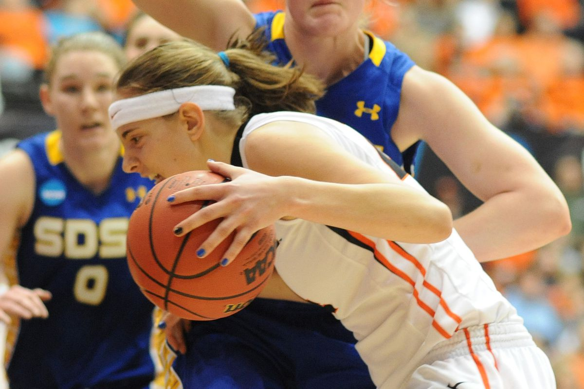 Sydney Wiese scored 23 points to lead the Oregon State Beavers over South Dakota State in the first round of the NCAA Tournament