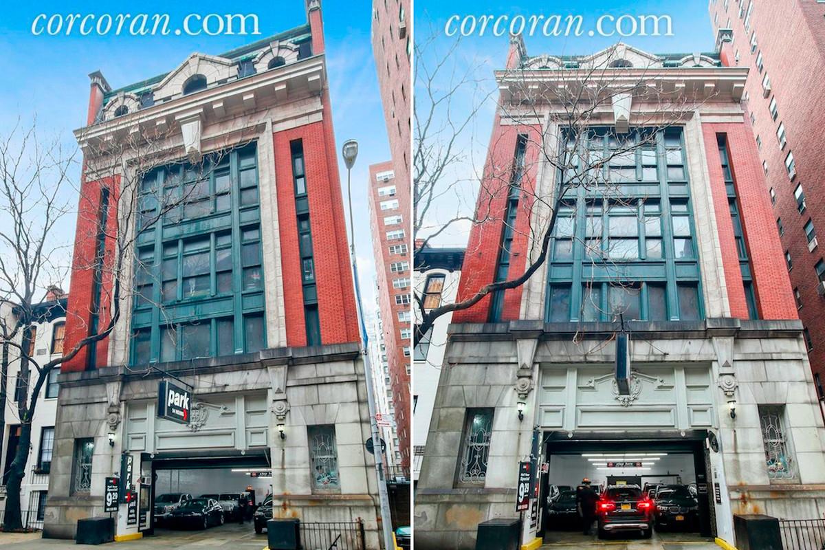 Enormous Upper East Side Parking Garage With Megamansion