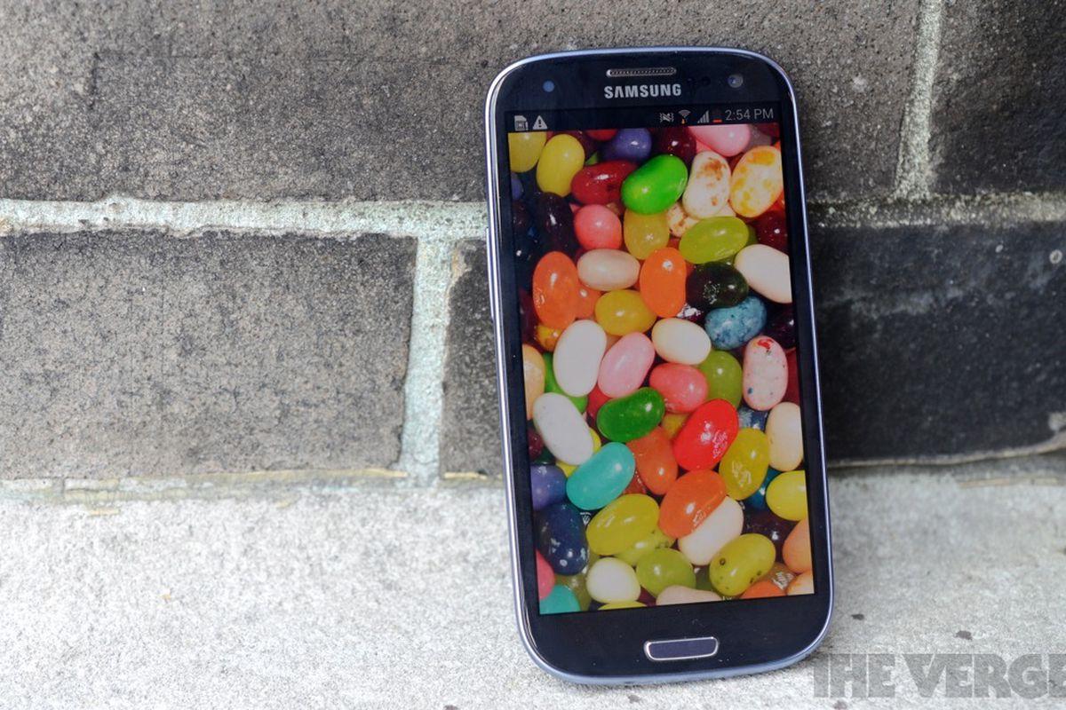 Samsung Galaxy s iii Jellybeans