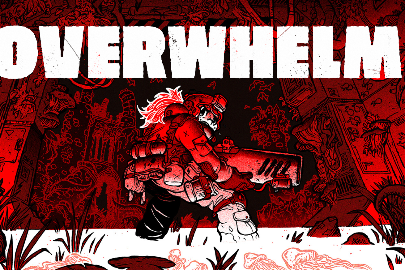 overwhelm is a brutal action horror game that s true to its name