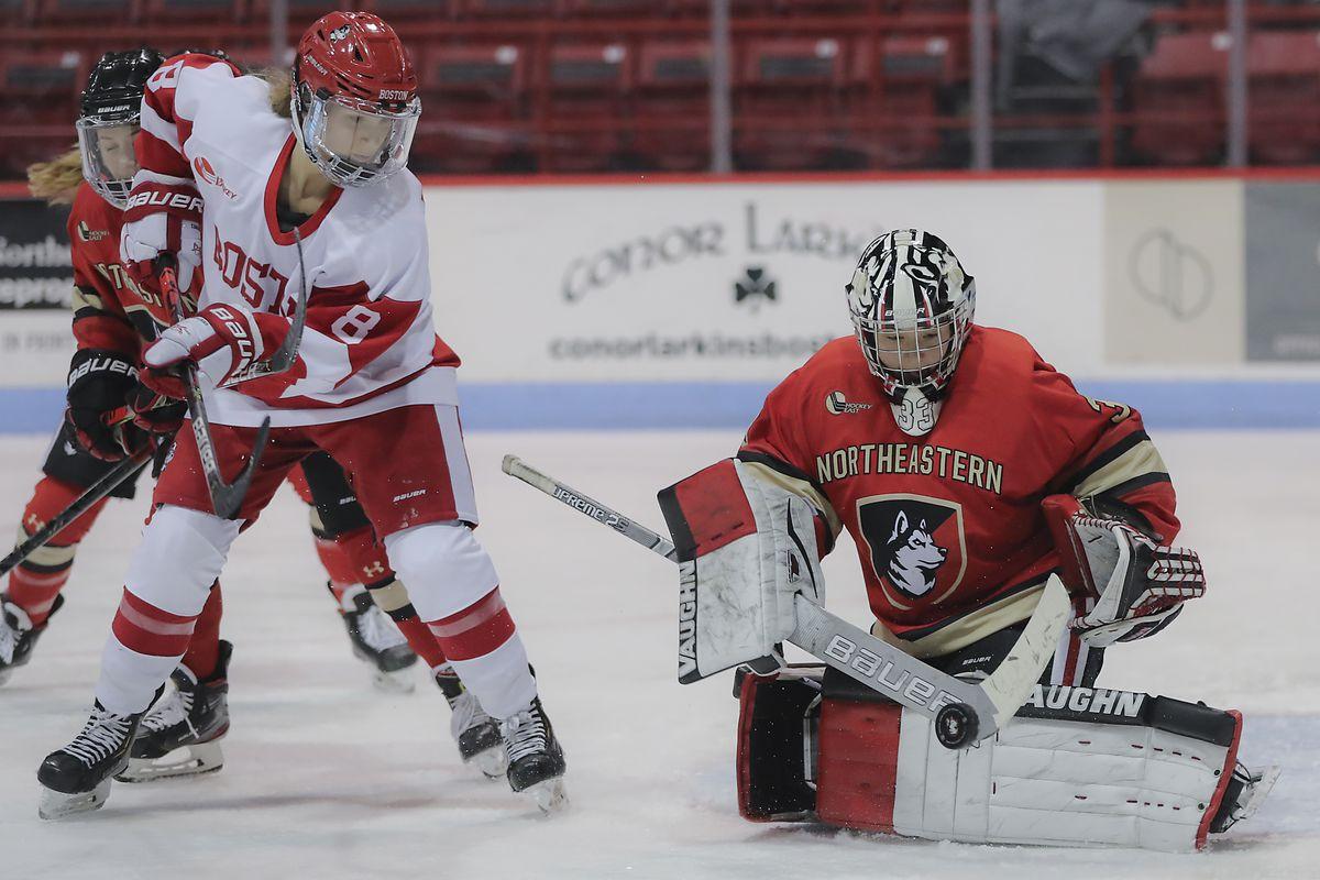 Northeastern Vs. Boston University at Matthew's Arena