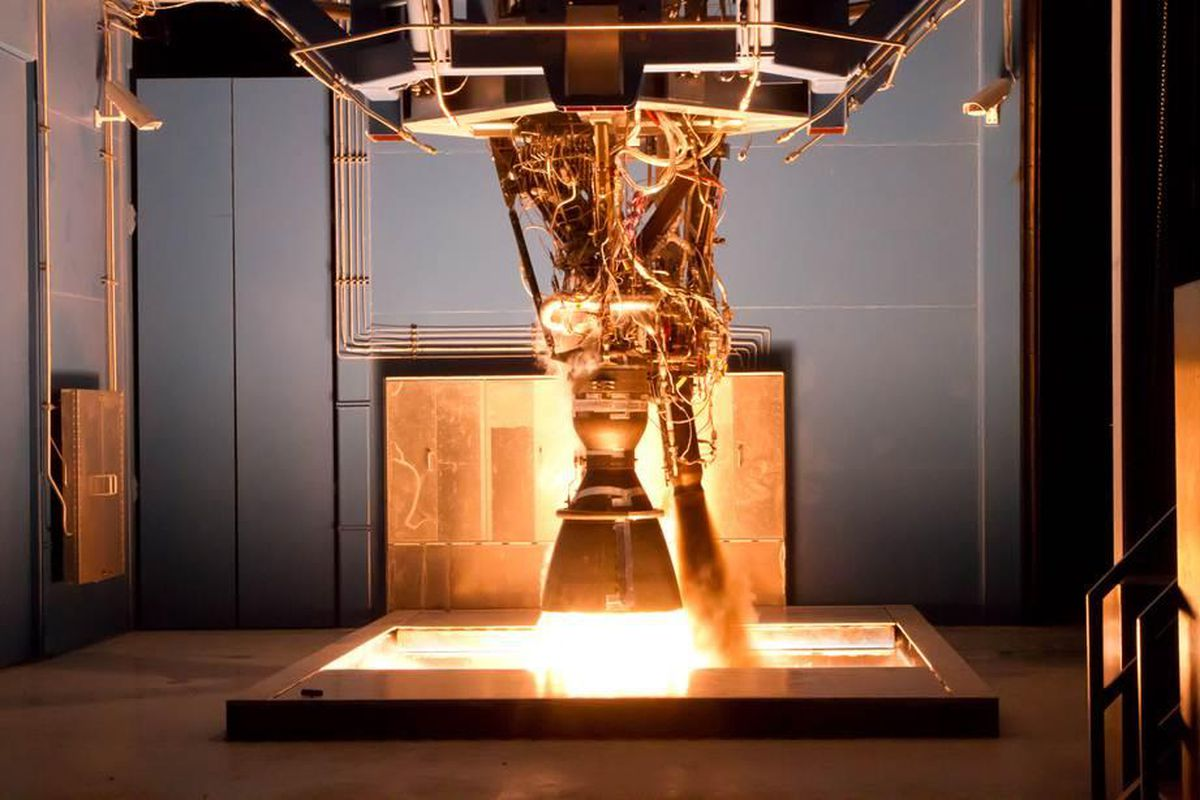 The engine for the Falcon 9 rocket unexpectedly exploded during tests