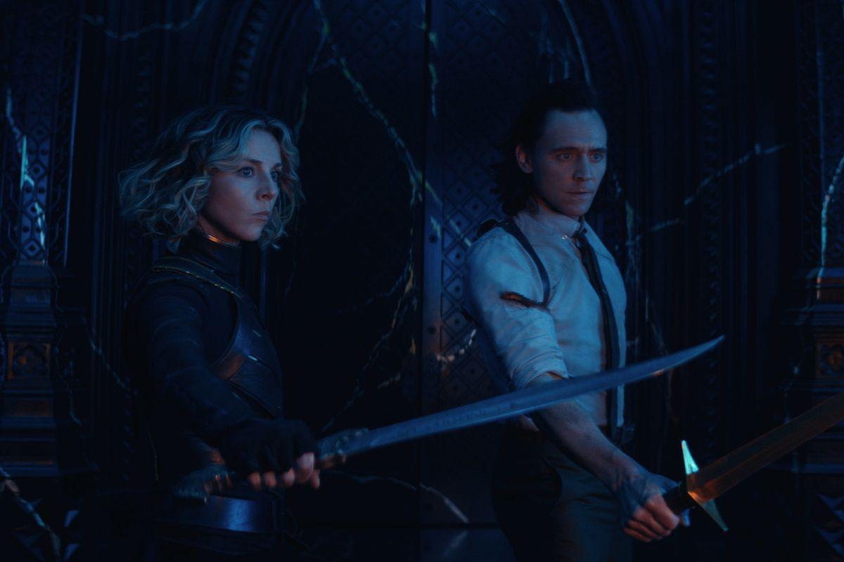 """Sylvie and Loki in """"Loki."""""""