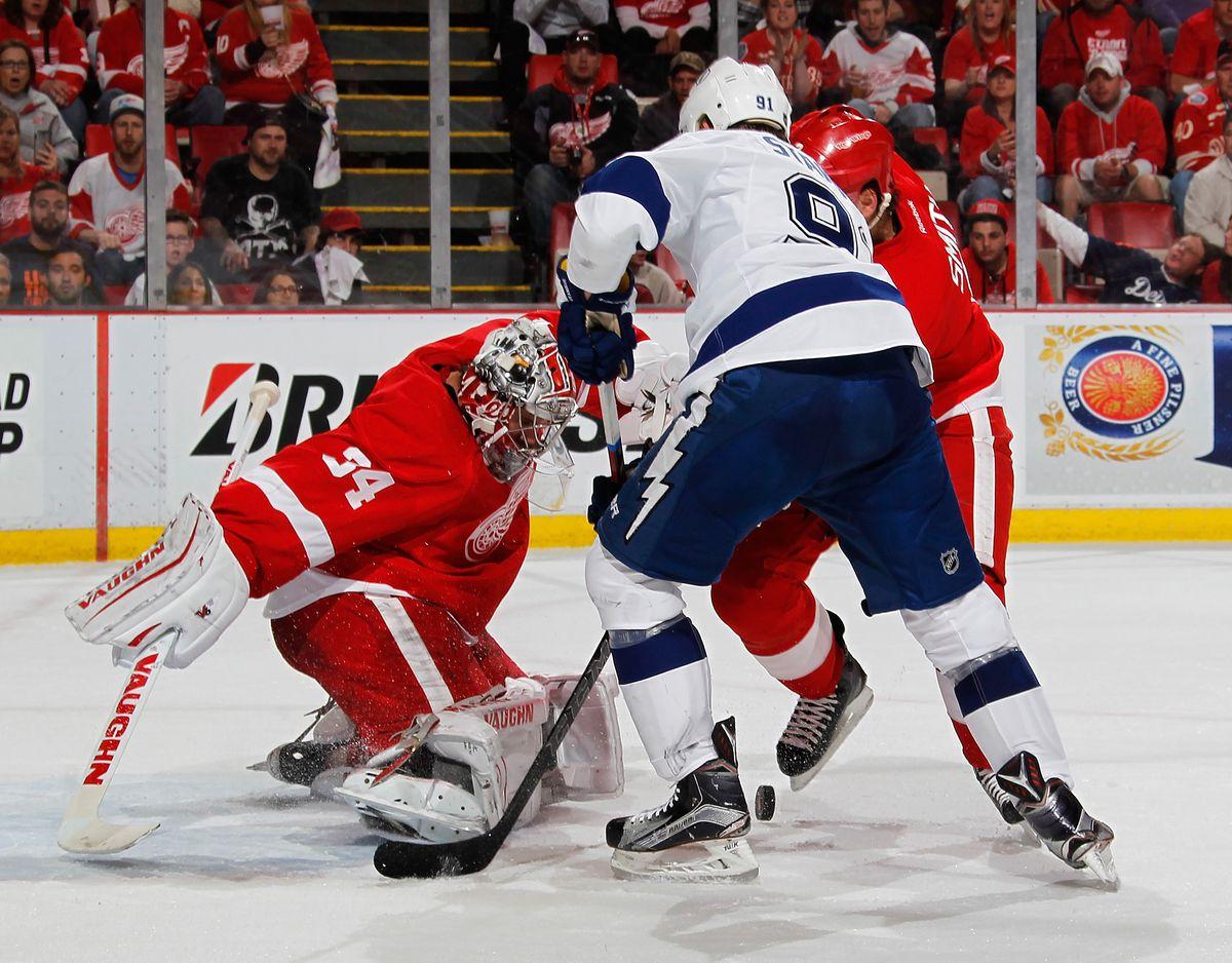 Tampa Bay Lightning v Detroit Red Wings - Game Four