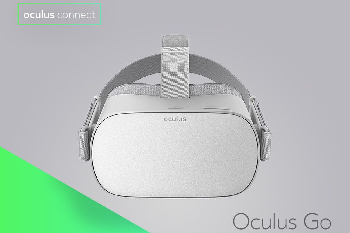 Facebook reveals Oculus Go, its standalone VR headset launching next year