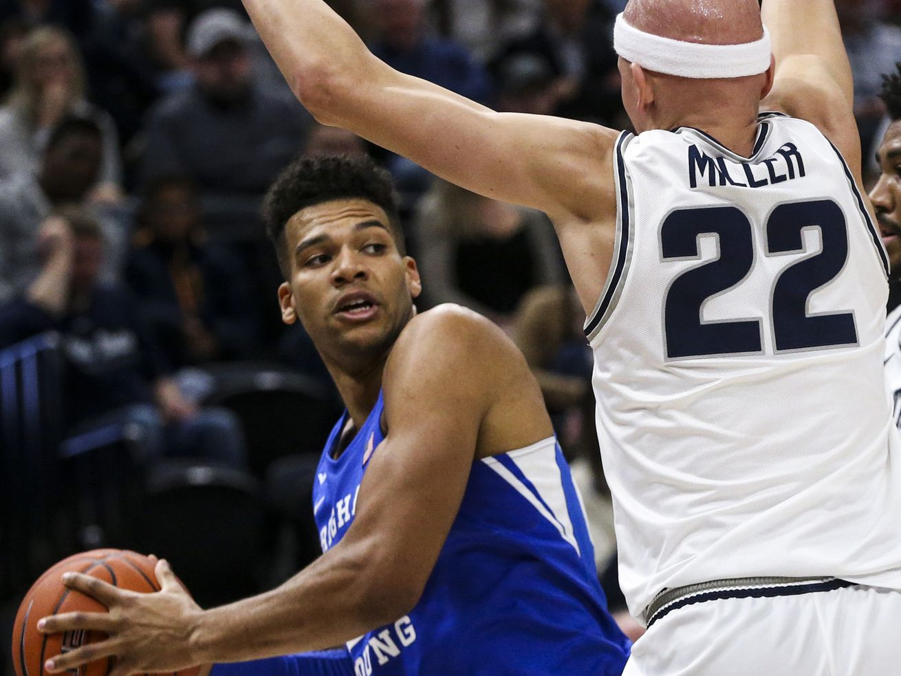 BYU's Yoeli Childs sidelined for Saint Mary's game due to injured finger