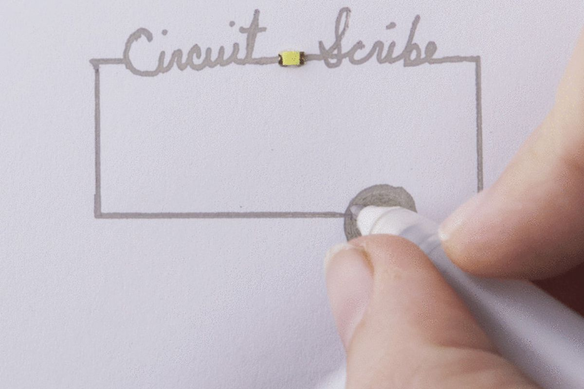 Rollerball Pen Turns Doodles Into Working Circuits The Verge Circuit Scribe Basic Kit Contains A