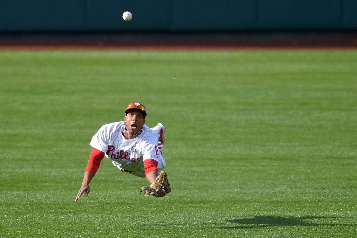 I dare you to find me a better picture of Ben Revere.