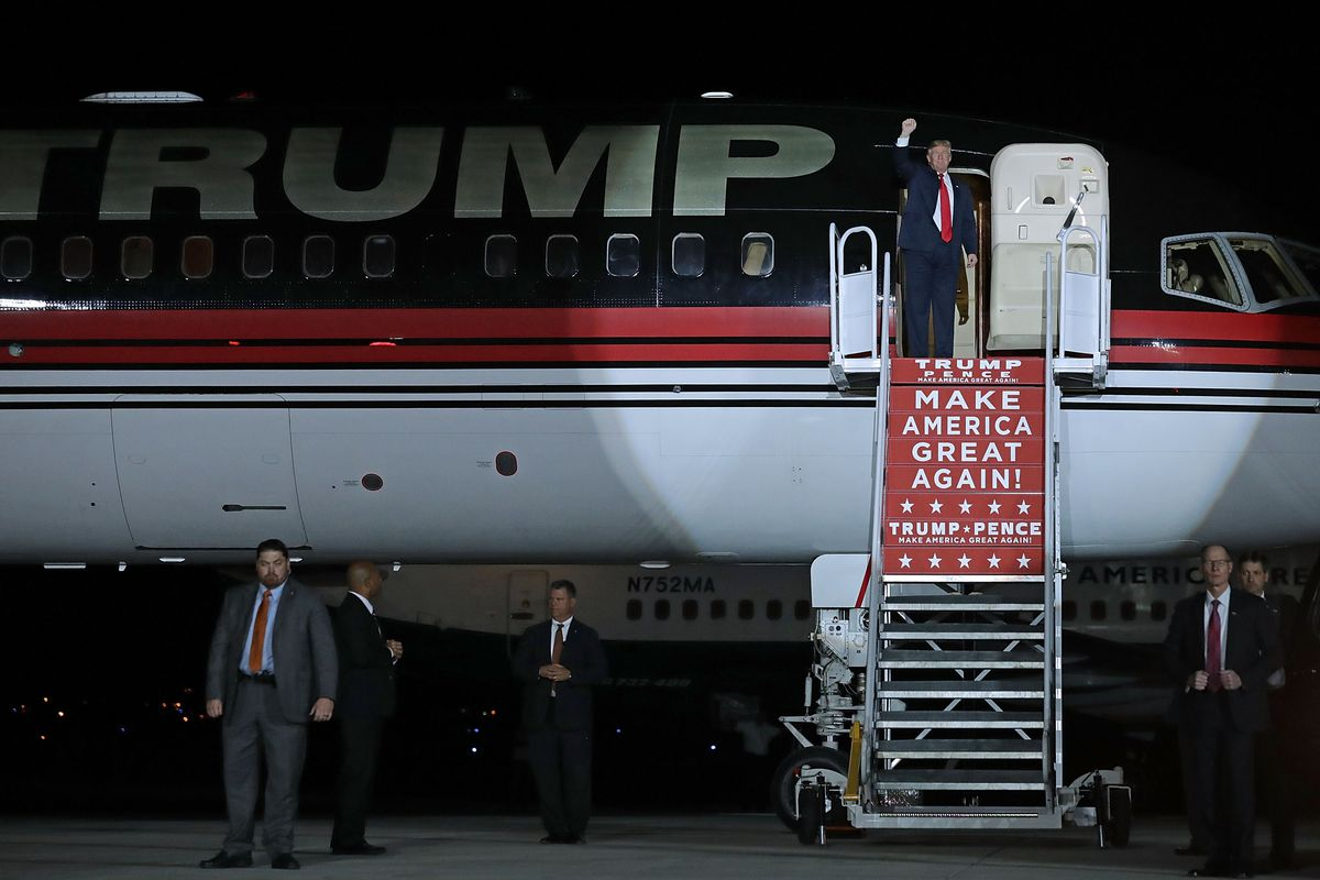 Donald Trump Holds Campaign Rally In Albuquerque, NM
