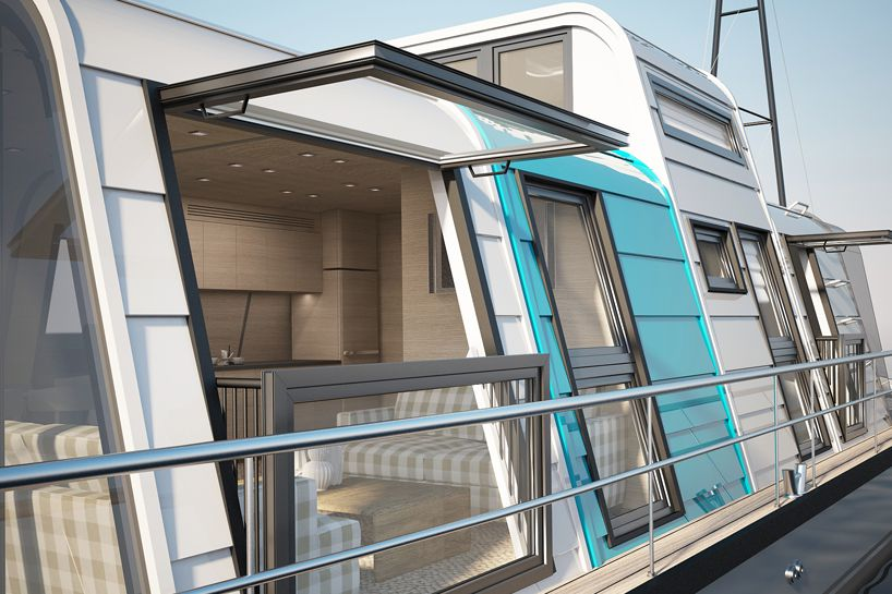 Prefab houseboat design can be assembled in two days - Curbed
