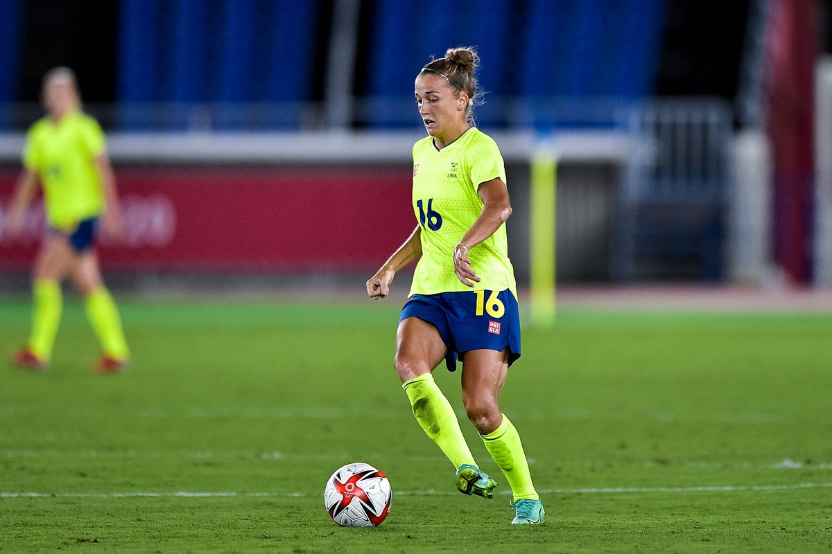 Sweden v Canada - Tokyo 2020 Olympic Womens Football Tournament Gold Medal
