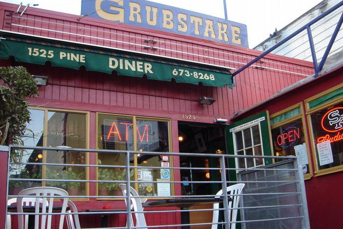 Exterior of The Grubstake