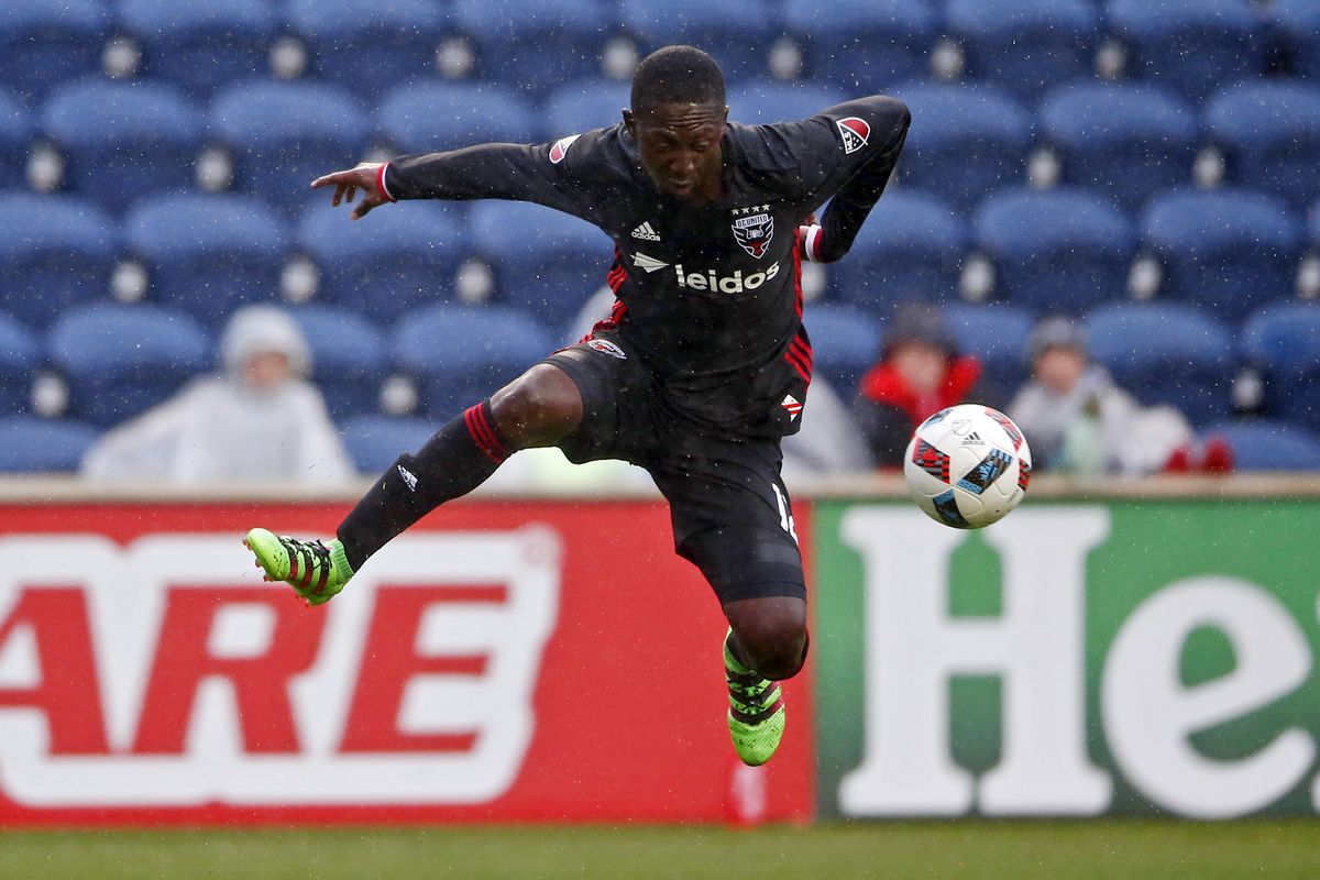 Patrick Nyarko played the hero Saturday to get his new team the 1-1 draw in Chicago.