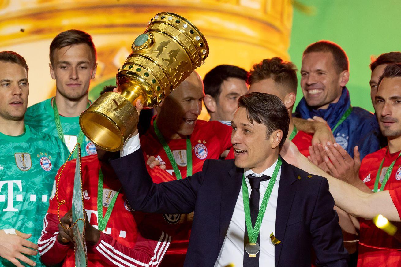Niko Kovac returned to Säbener Straße to say farewell to the Bayern players personally