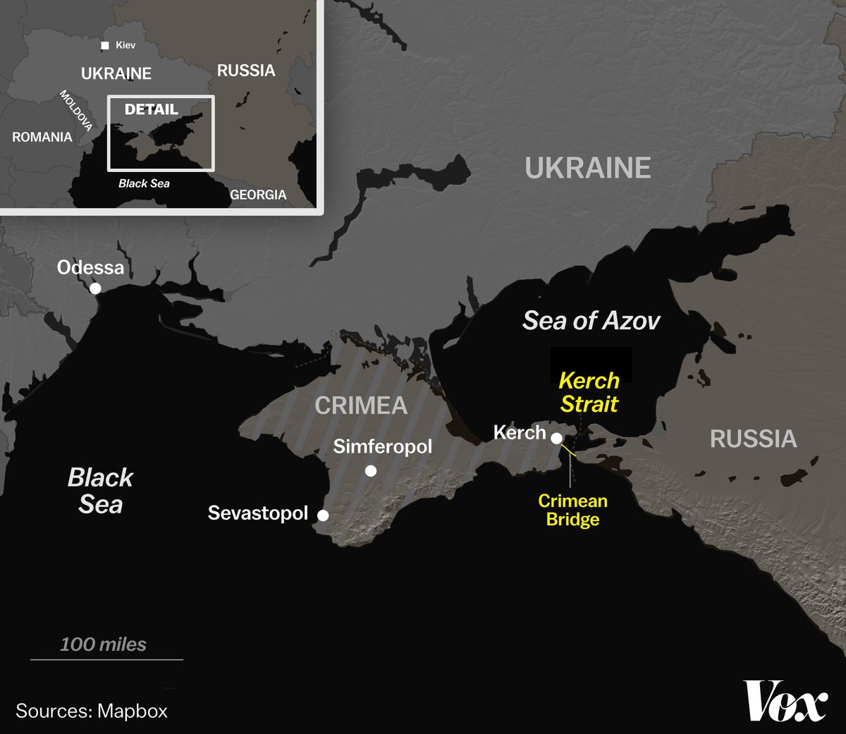 Russia S Attack On Ukrainian Ships Could Mean A Bigger War Vox