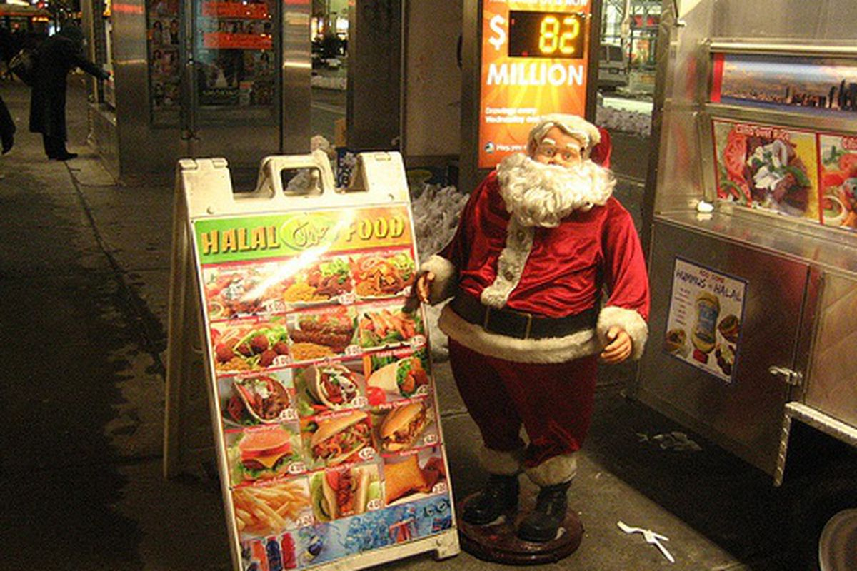 Santa's Off-Season Halal Cart Gig