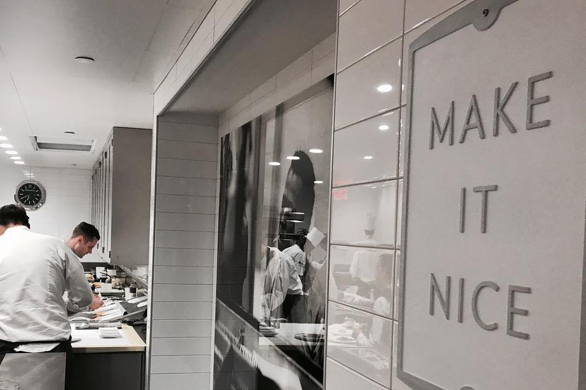 """""""Make It Nice"""" sign in EMP"""