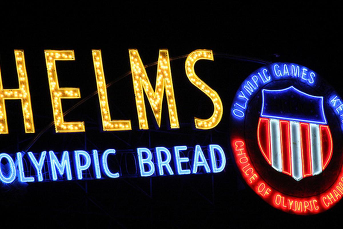 Helms Olympic Bread.