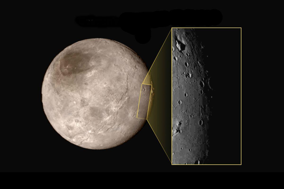 Kerberos Moon Of Plluto: High-res Image Of Pluto's Moon Charon Shows Strange