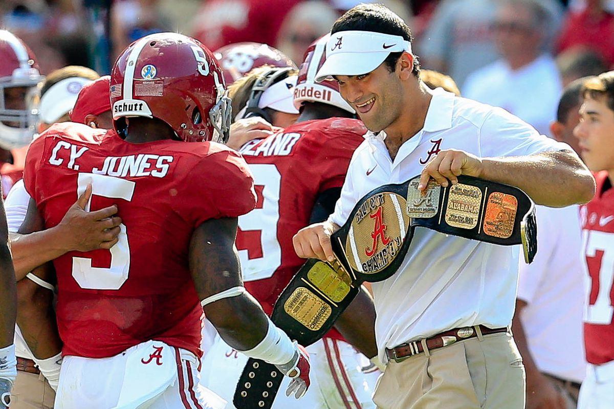 Let's hope this belt gets passed around this weekend.