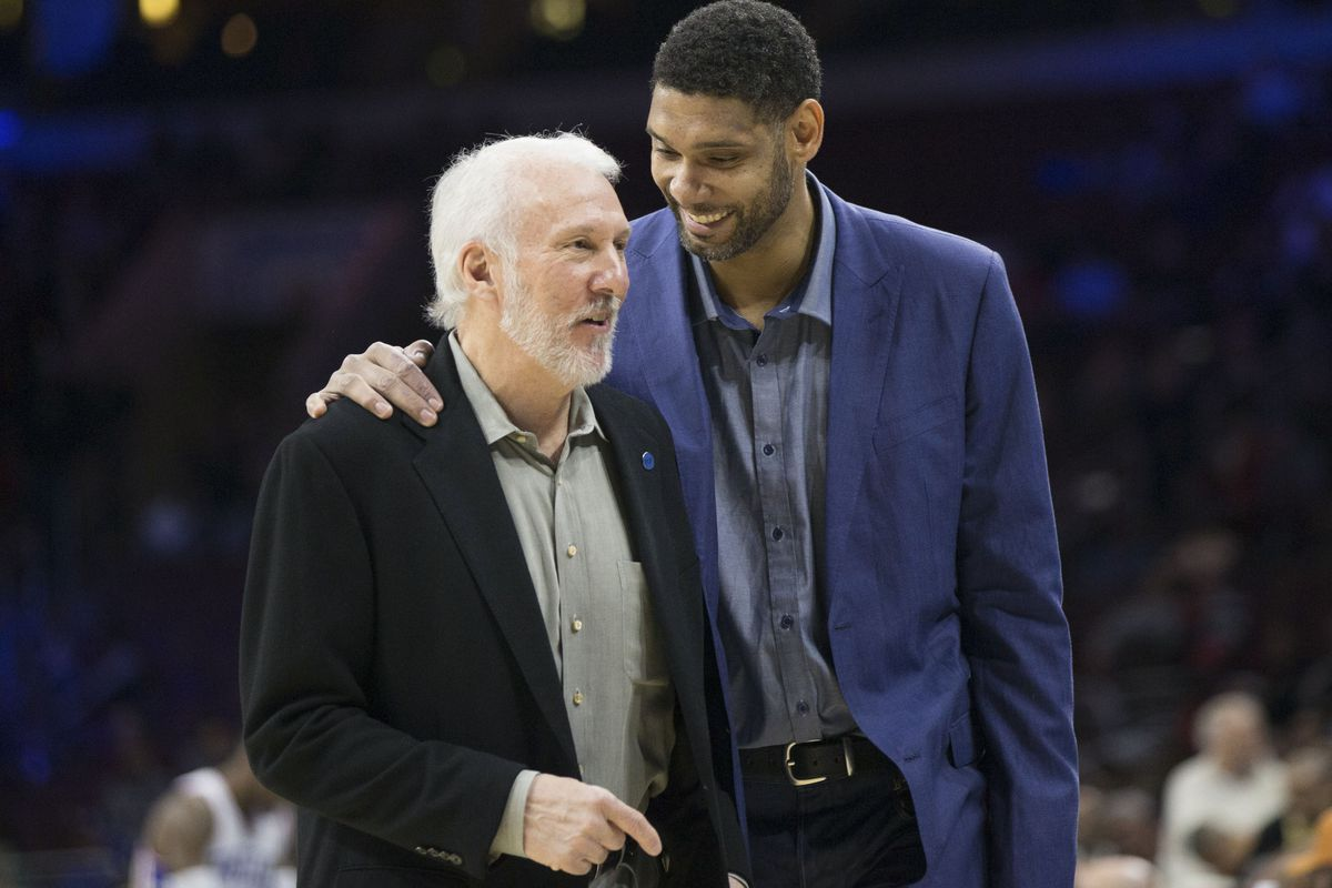 Tim Duncan and Gregg Popovich were made for each other - Pounding The Rock