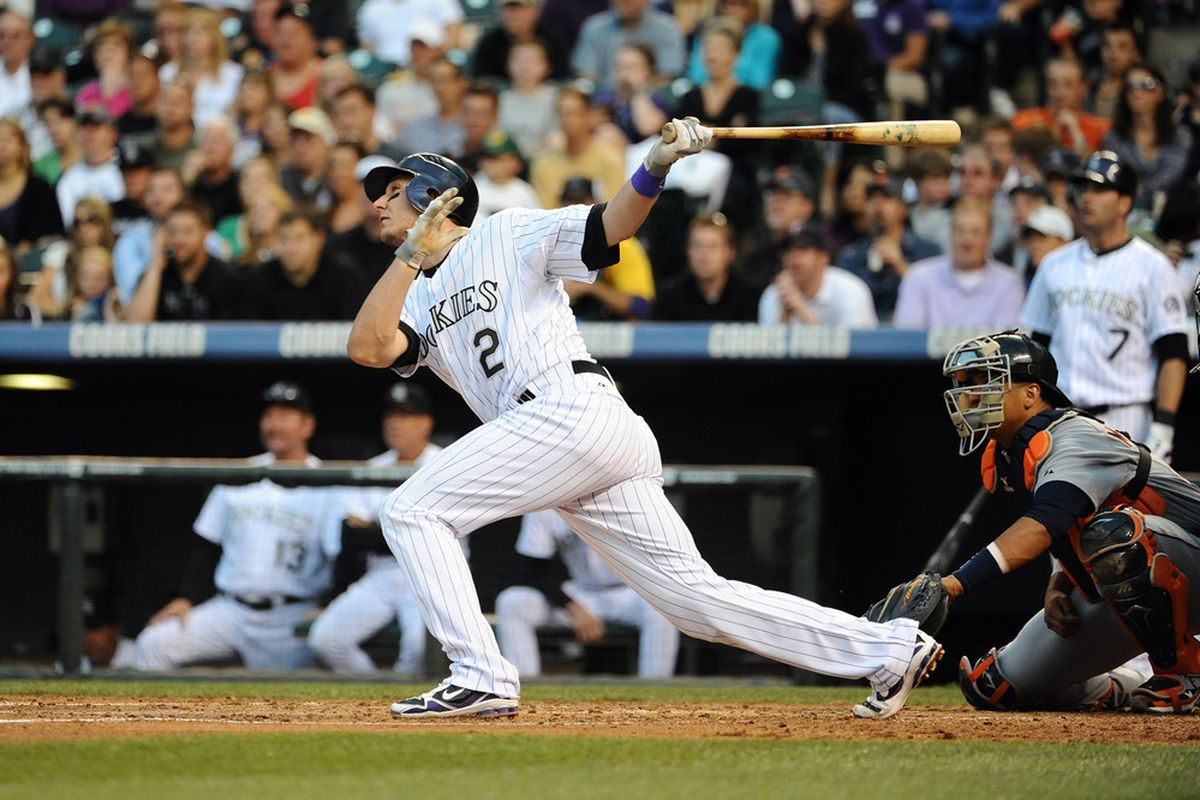 It is looking as if Tulo might be Colorado's only All-Star in 2011.