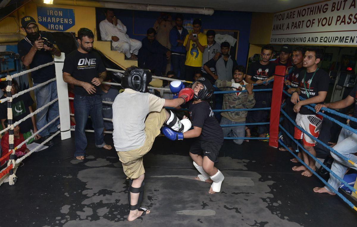 SPORT-MMA-PAK-PAKISTAN-LIFESTYLE