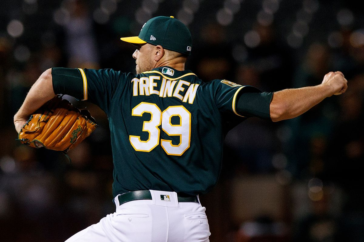 official photos 713ce 95f25 2019 AL West Preview: Oakland Athletics, pitching staff ...