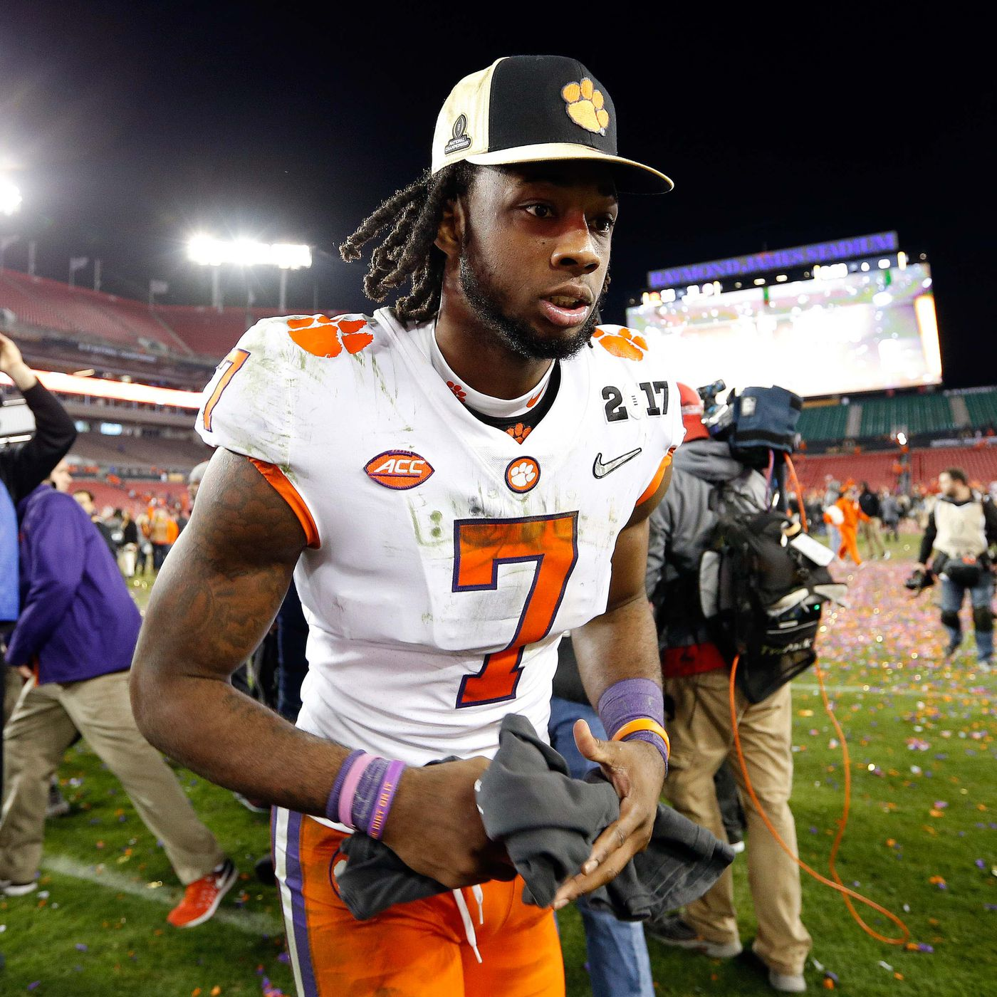 outlet store 97bd0 424f3 NFL draft WR rankings 2017: Clemson's Mike Williams leads a ...