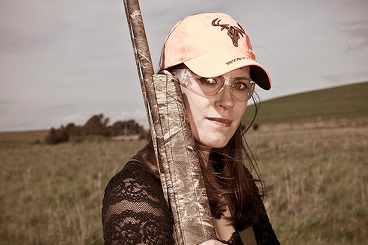 "<a href=""http://ashleytudor.com"">Ashley Tudor</a> has her own version of camo: lace"