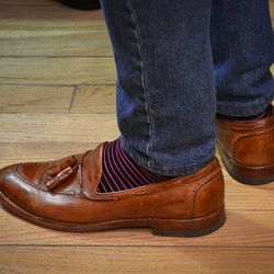 Forget the shoes; it's all about the socks