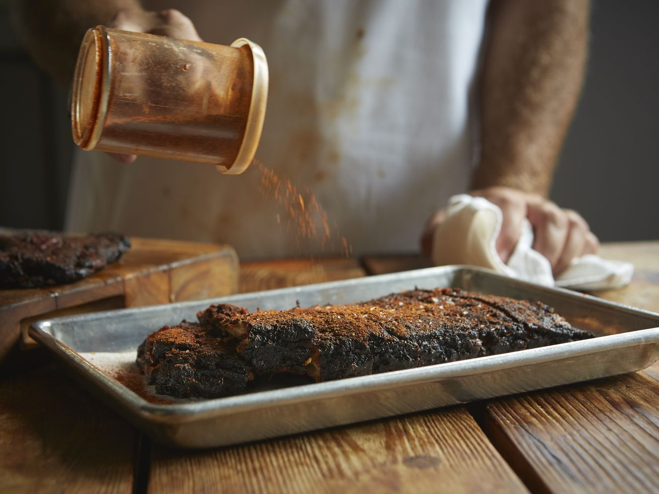 Memphis-style dry-rubbed barbecue is coming to the Roosevelt Collection in South Loop.