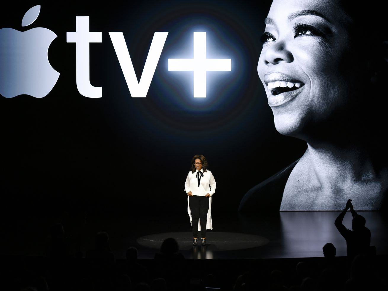 Oprah Winfrey will be a part of the new Apple TV+ service. Somehow.